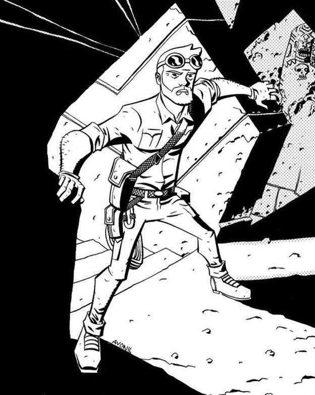 First #CaveCarson drawing https://t.co/0qpYW9ZTKU