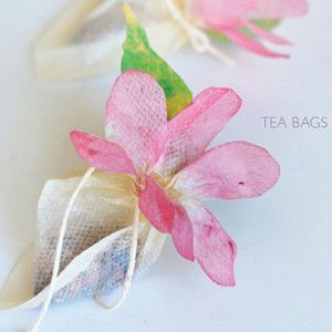 Tea Bag Flowers