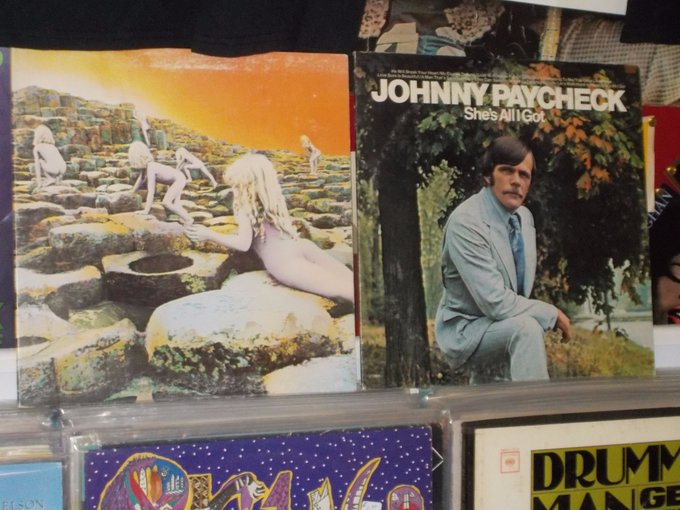 Happy Birthday to the late John Bonham of Led Zeppelin & the late Johnny Paycheck