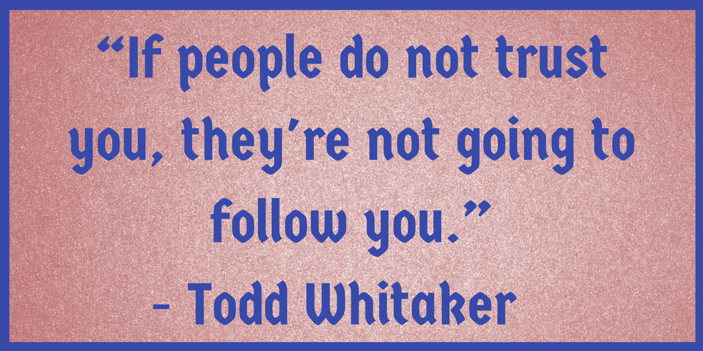 Leaders and would-be leaders: Focus on relationships first. @ToddWhitaker via @RossBRomano  https://t.co/8qXHrYhJa4