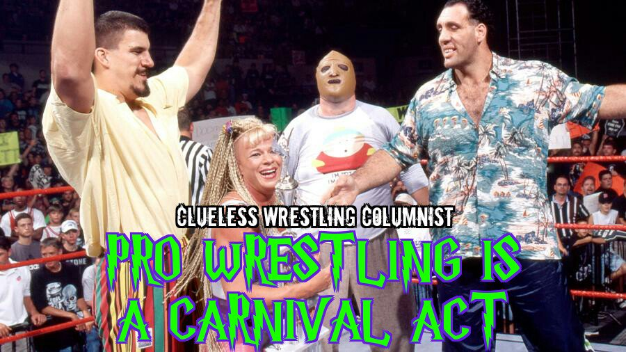 Clueless Wrestling Columnist