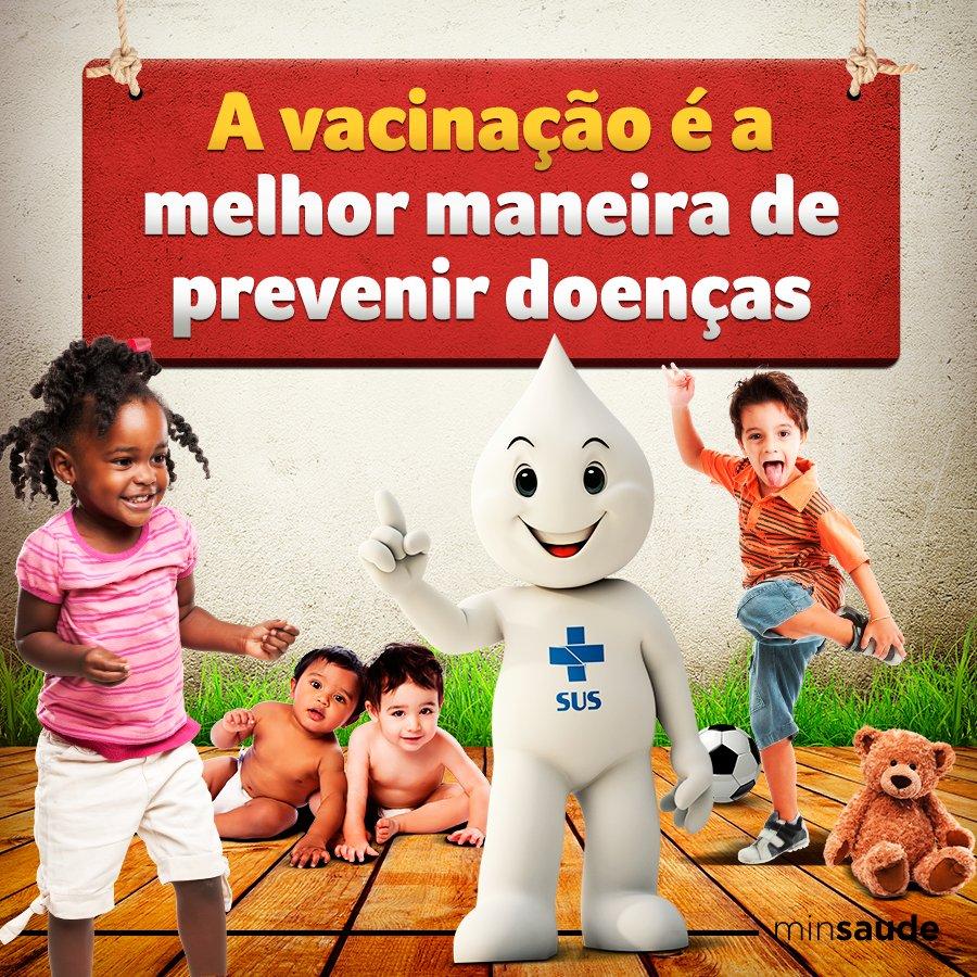 Vacinas oferecidas pelo SUS são seguras, evitam agravamento de doenças, internações e até óbitos.  #VacinarÉProteger