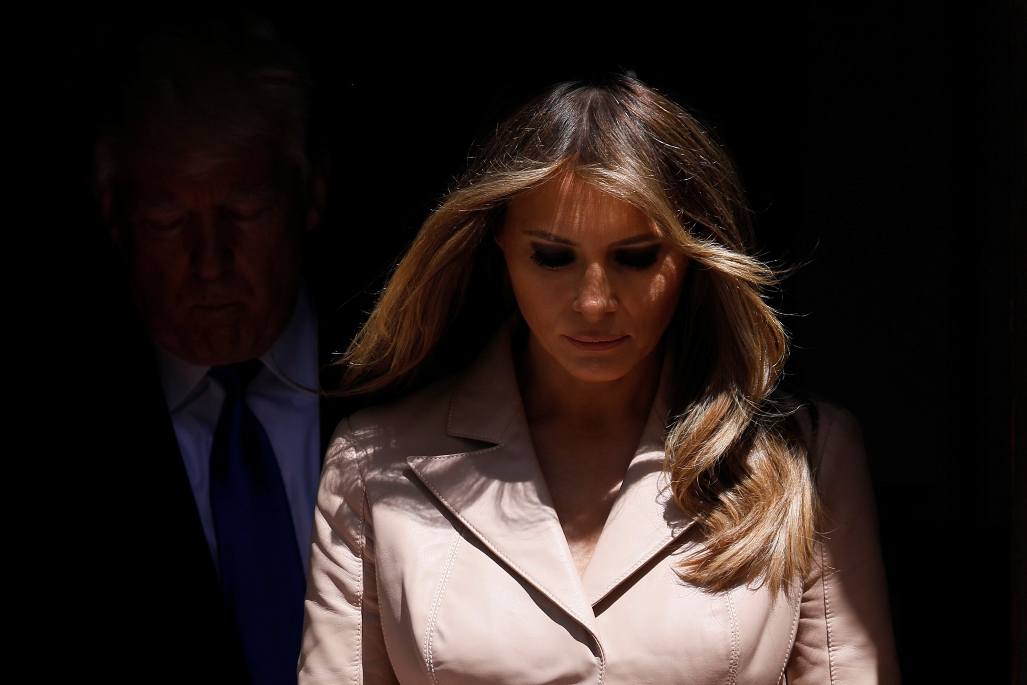 Melania Trump m ə ˈ l ɑː n i ə born Melanija Knavs mɛˈlaːnija ˈknaːus Germanized to Melania Knauss born April 26 1970 is a SlovenianAmerican