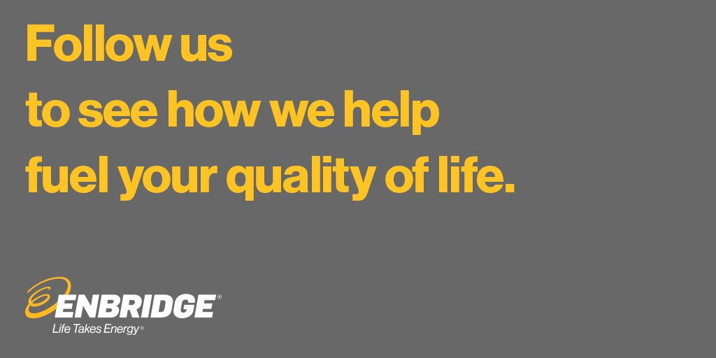 Spectra is now Enbridge. Follow @Enbridge to learn more about how we fuel your quality of life. https://t.co/qhNmEyPSMg