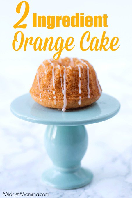2 Ingredient Orange Cream Cake