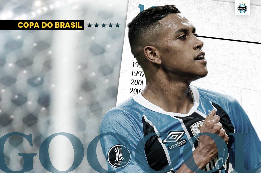 Com um baita passe de Léo Moura, Pedro Rocha marca e aumenta! Fluminense 0x2 Grêmi #CopaDoBrasil2017 #ReiDeCopas #RumoAoHexa #QueremosACopao