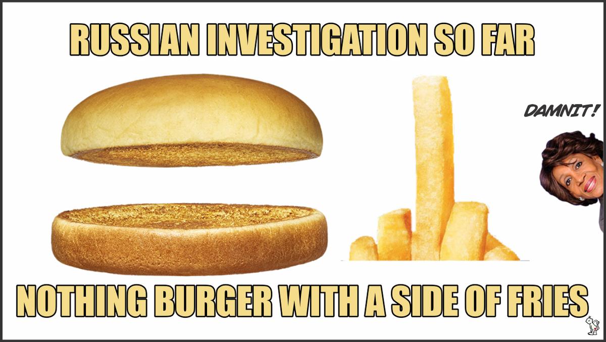 Image result for nothingburger meme
