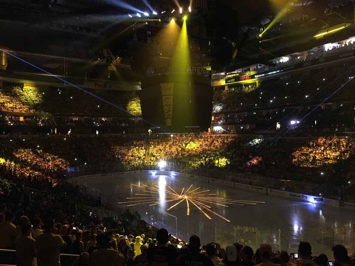 Just add noise. Lots and lots of noise. Game 2, #Stanley Cup Final @Penguins vs @PredsNHL, is at hand