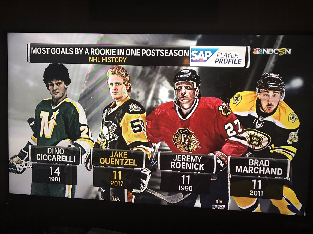 Dino Ciccarelli Cheering For Pittsburgh Penguins' Jake Guentzel In His Pursuit Of Playoff Goal Scoring Record