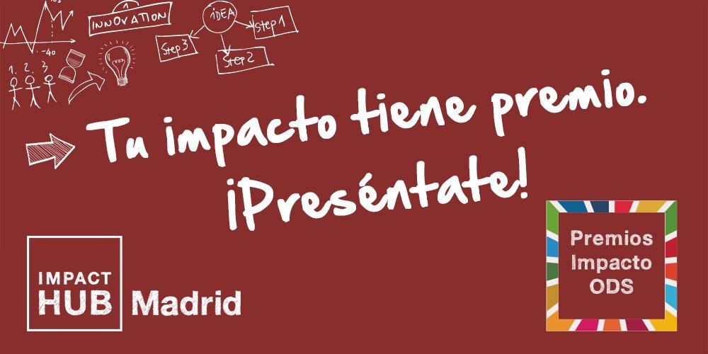 ☀️¡Buenos días! Con un notición: Lanzamos los Premios Impacto ODS. #ODSImpacto