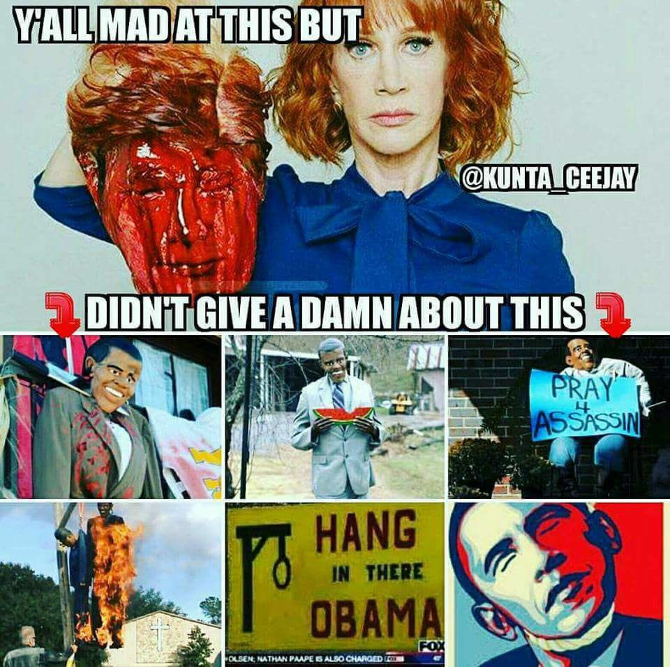 Perspective and intellectual consistency #kathygriffin https://t.co/s1vAf8K9fp