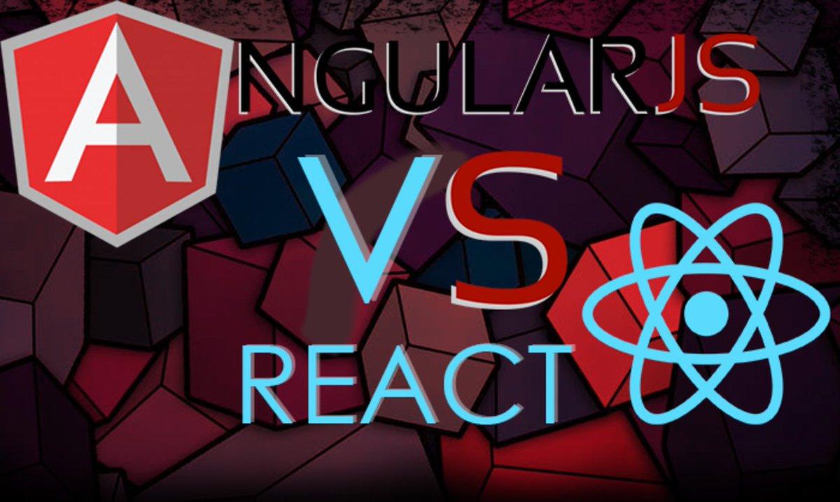 AngularJS vs React – War of Facts