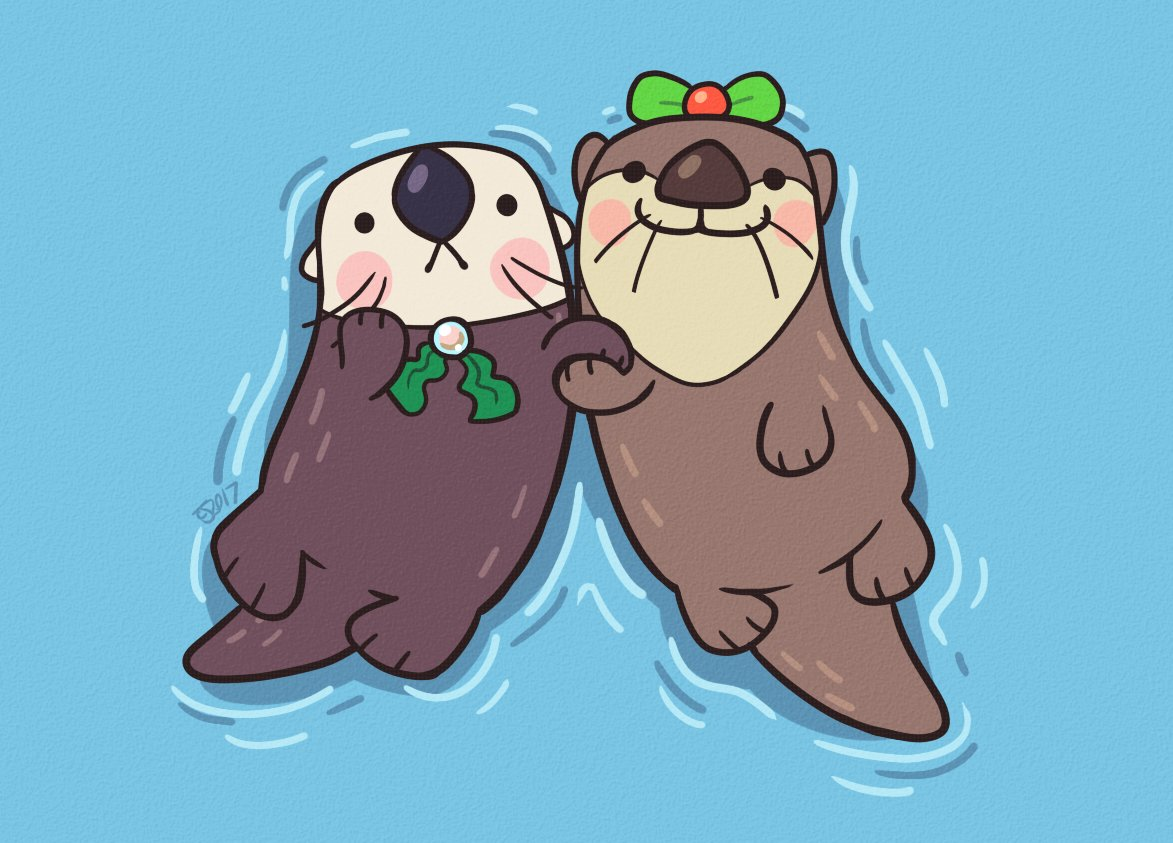 Almost forgot it was #WorldOtterDay !! Sea and River are happy about it! https://t.co/4VHPhRpSd8
