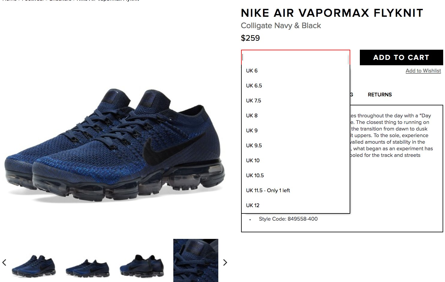 af09b56134e ... Nike Air VaporMax Flyknit SOLE LINKS on Twitter  ...