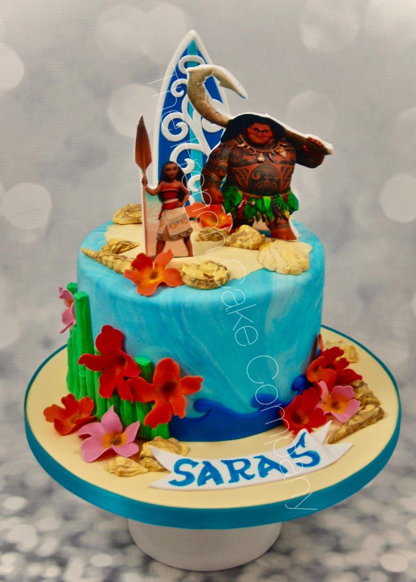 French Cake Company On Twitter Moana Cake Is Very Popular Vive - Maui birthday cakes