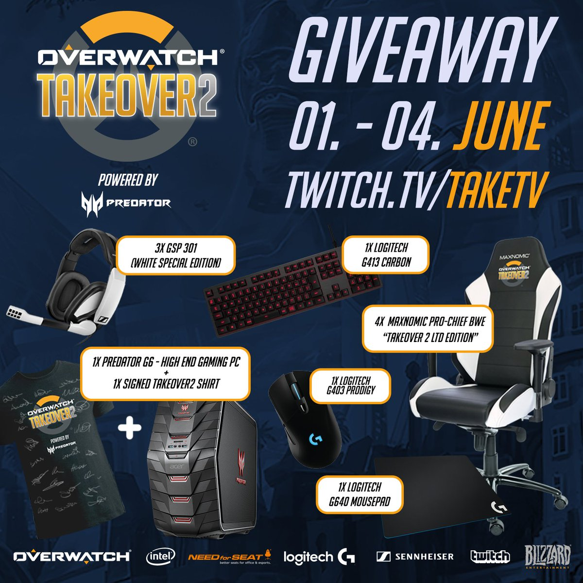 Make sure to participate in the awesome #OWTaKeOver 2 giveaway! https://t.co/RaDi1GnxMv https://t.co/KCh5vC6Hcp