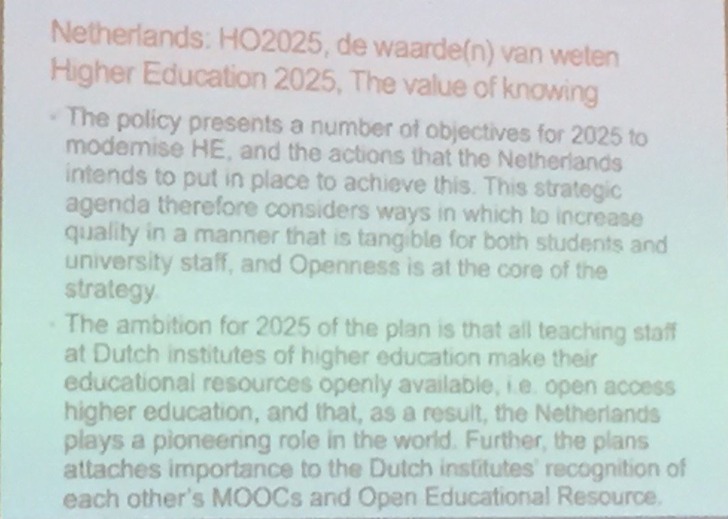 #openforum #openscot go the Netherlands ! I think leading on policy across learning https://t.co/cYac2RhrFQ