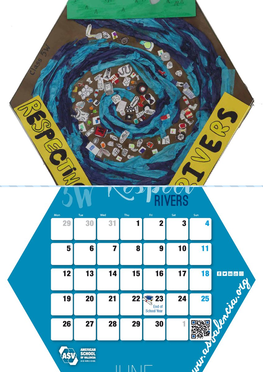 Valencia Calendar.American School Of Valencia On Twitter Welcome June Find On The