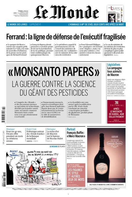 """Résultat de recherche d'images pour """"monsanto papers"""""""