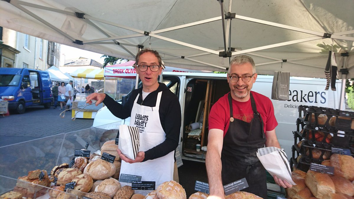 Find us at Axminster Market & Symondsbury Food Fair, as well as in our Bridport shop today! #realbread