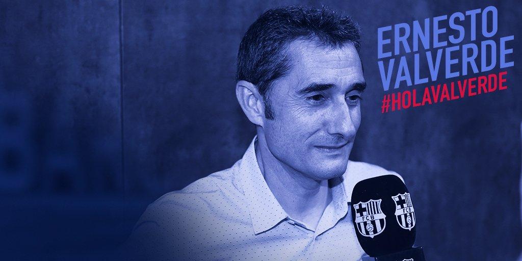 Thumbnail for Així ha estat la presentació d'Ernesto Valverde / Así ha sido la presentación de Ernesto Valverde
