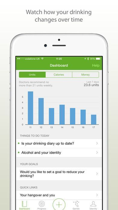 alcohol addiction app