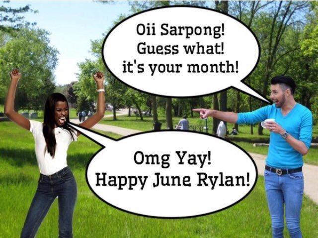 Happy June! @junesarpong https://t.co/WR3pqdY88Z