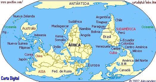 Gerardo Correas on Twitter As estudian el mapa mundi en