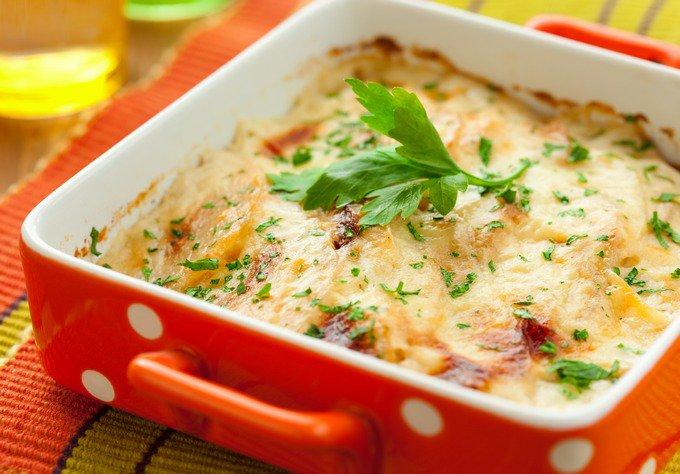 картофельная запеканка с грибами рецепты с фото пошагово