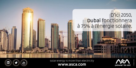 [LE SAVIEZ-VOUS?] #SmartCity #Dubaï Solar energy is more than electricity. #GreenCities #TransitionEnergetique  http:// ow.ly/ysjw30bsRQ7  &nbsp;  <br>http://pic.twitter.com/dUjO0hFBmt
