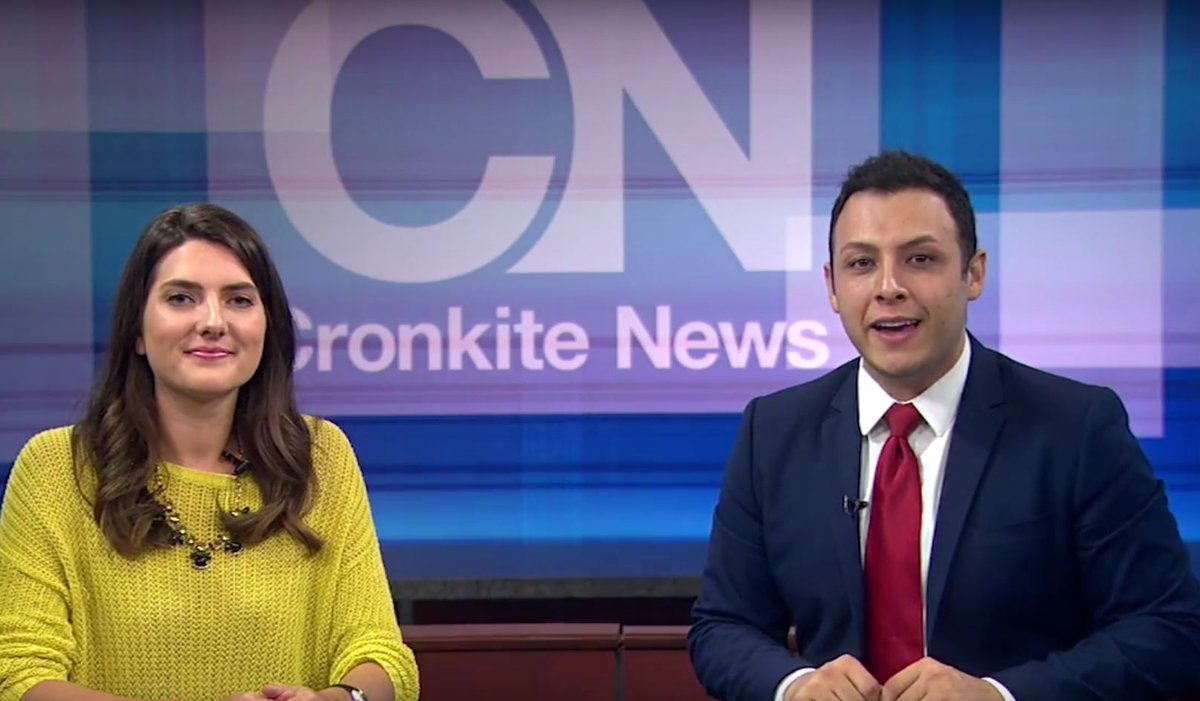 .@cronkitenews named best TV newscast in national SPJ competition. See results at https://t.co/gXJYYKADmN https://t.co/L2sSB5jQd5