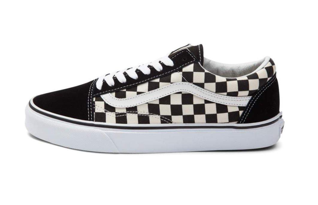 black and white checkered vans journeys