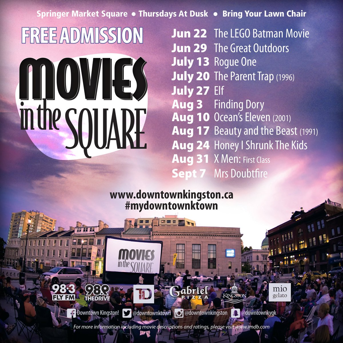 We've got your Thursdays covered! #YGK #mydowntownktown #moviesinthesquare https://t.co/VGhm8wm0dR