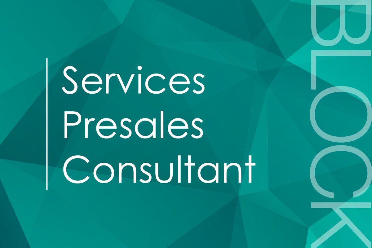 test Twitter Media - We're on the lookout for a Services Presales Consultant https://t.co/fiJZ2R0Zzz https://t.co/GQtJzaHGGx