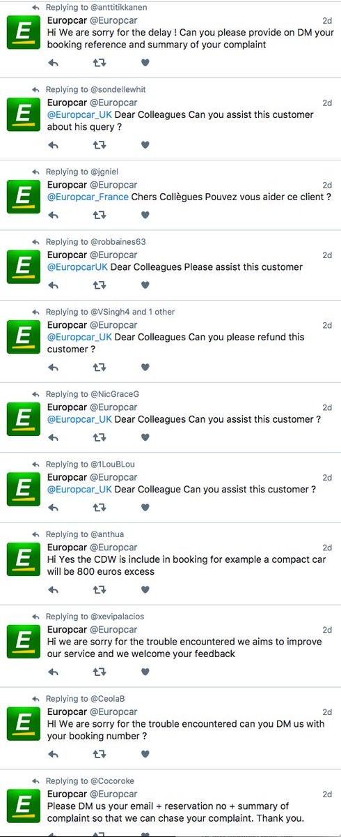 Europcar On Twitter Hi Please Dm Us Your Reservation Details So