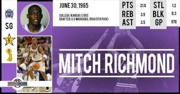 Happy Birthday Mitch Richmond