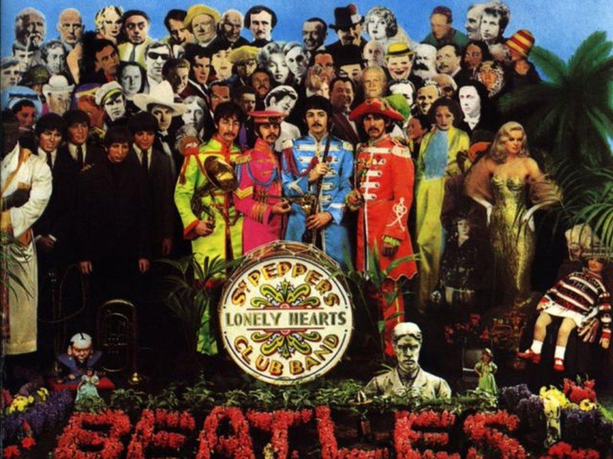 'Sgt. Pepper's', álbum dos Beatles que marcou a história da música, completa 50 anos https://t.co/R6FyziE8td  #G1