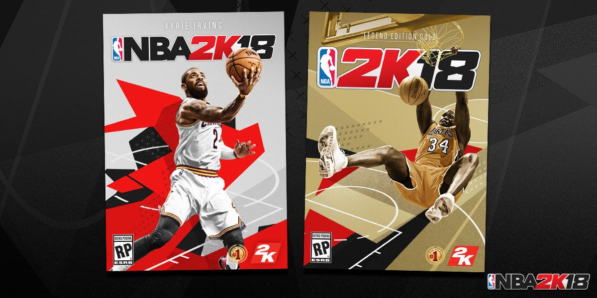 41f3cb7b6af Kyrie Irving selected for NBA 2k18 cover