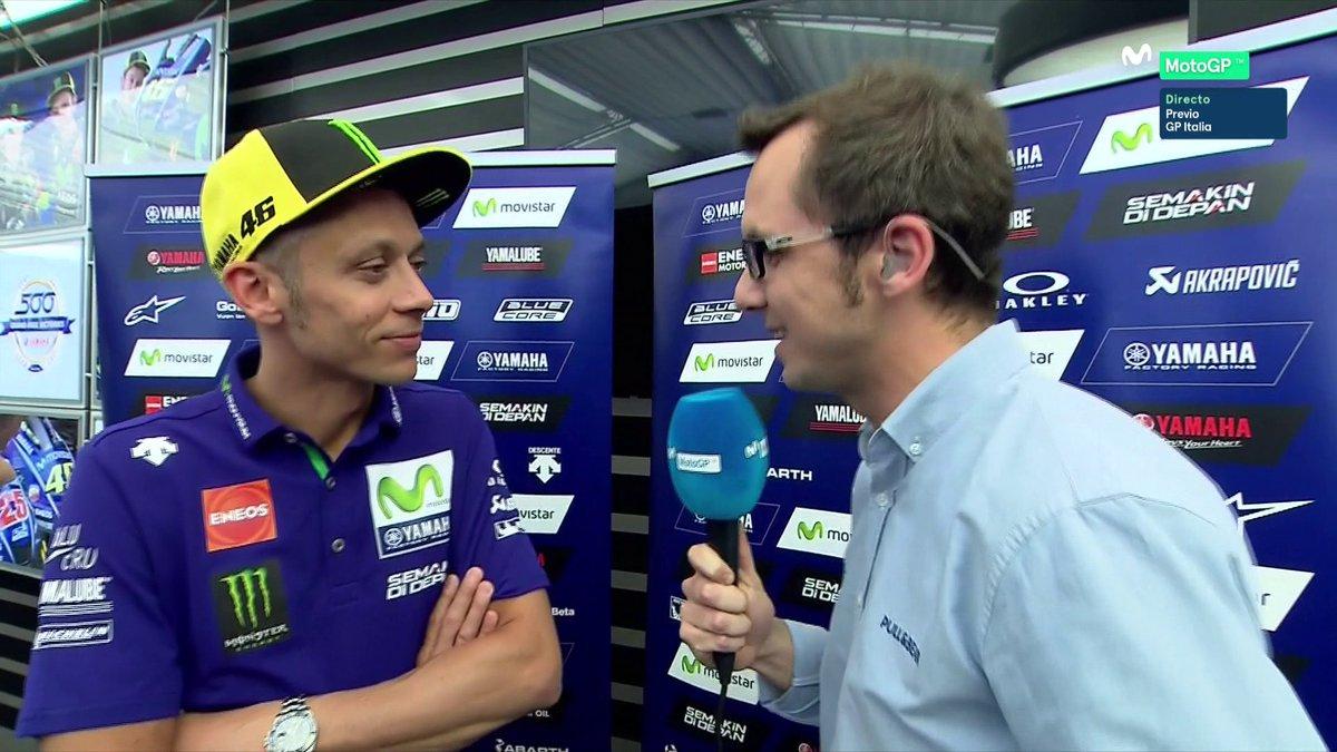 MotoGP Italia: le sensazioni di Valentino per la gara del Mugello