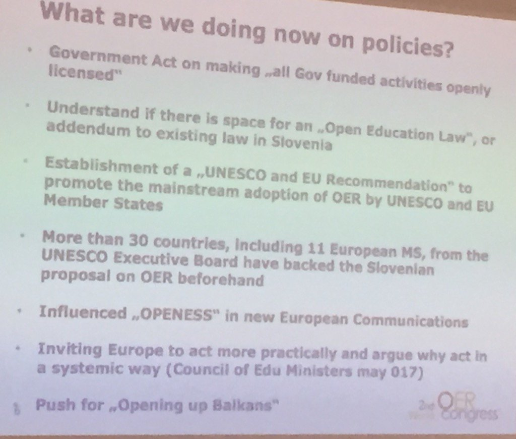 #OERforum #openscot hope some scottish policy wallahs see this - look how Slovenia moving ahead in this space https://t.co/zGrcqkcUEu
