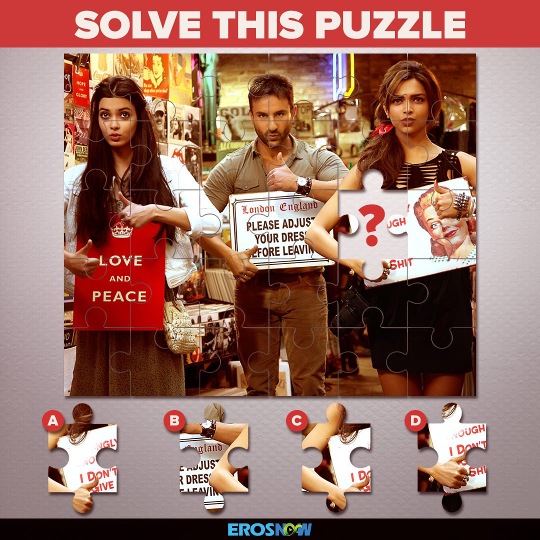 This Cocktail&#39;s punch is missing a piece. Find it &amp; add it. #TrickyThursday #DianaPenty #DeepikaPadukone #SaifAliKhan <br>http://pic.twitter.com/oJ7IVitP8I