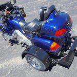 77° and sunny is perfect weather for converting your motorcycle. #Honda #Goldwing #Voyager #TrikeKit