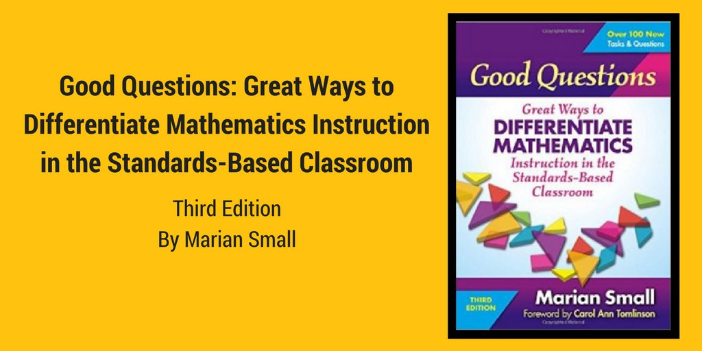Tcm Nctm On Twitter Our New Book Showcases Ways To Differentiate