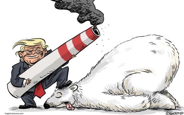 """Trump sconvolge l'umanità: """"usciamo dagli accordi di Parigi sul Clima"""""""
