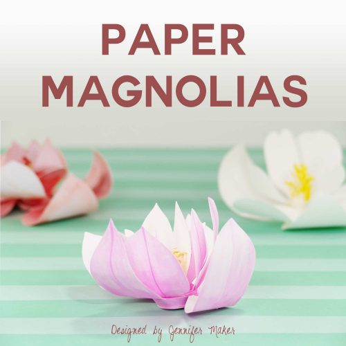 DIY Paper Magnolias Will Brighten Your Day