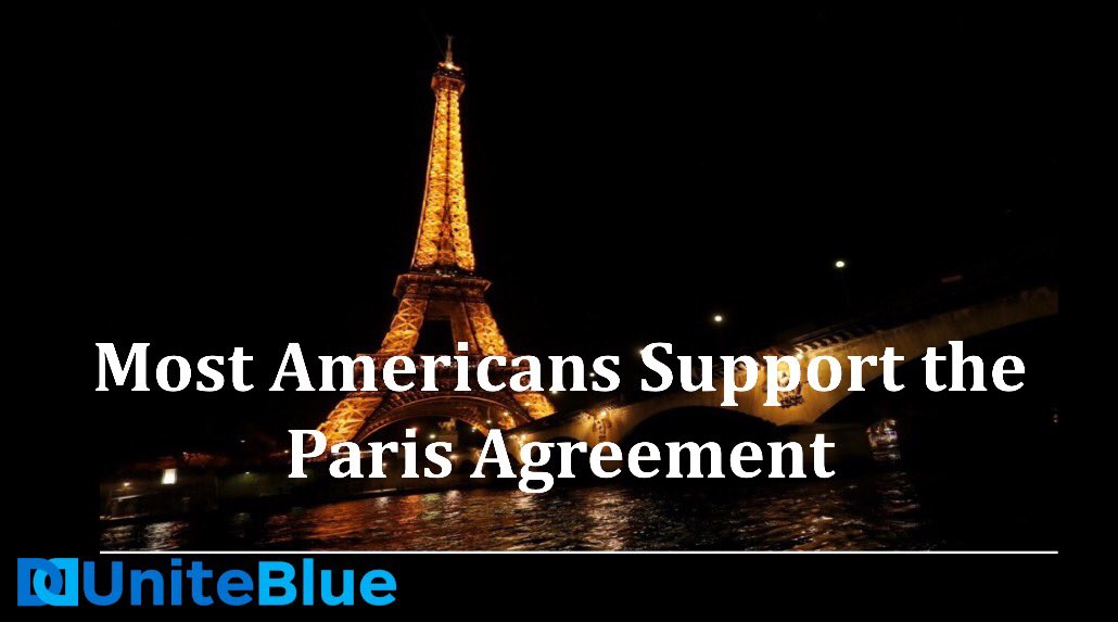 7 Out of 10 Americans Want to Stay in #ParisAgreement #UniteBlue #Resistance #ActOnClimate https://t.co/Jwn4oorgqK https://t.co/0tDs1cYfI1