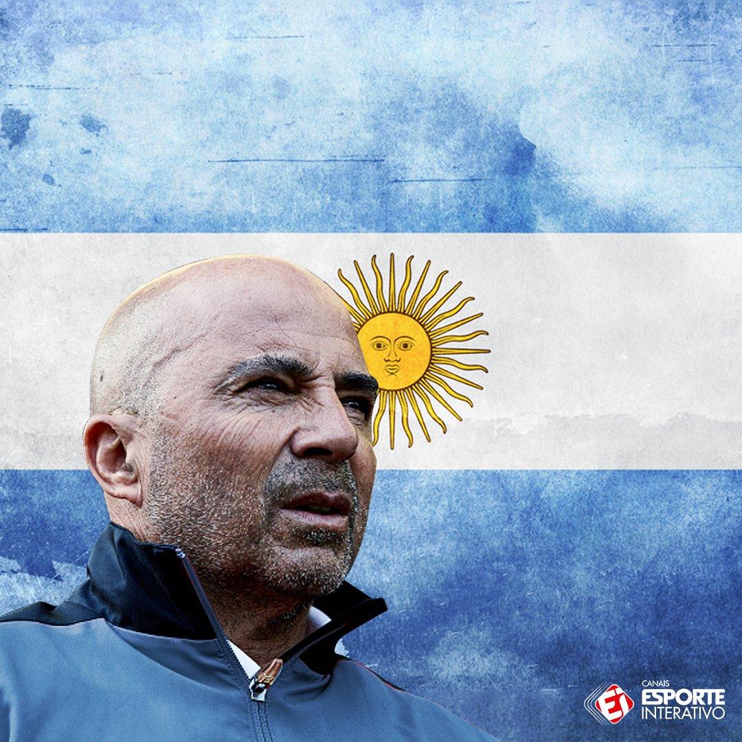 AGORA É OFICIAL! A Argentina anunciou oficialmente Jorge Sampaoli como seu novo técnico!