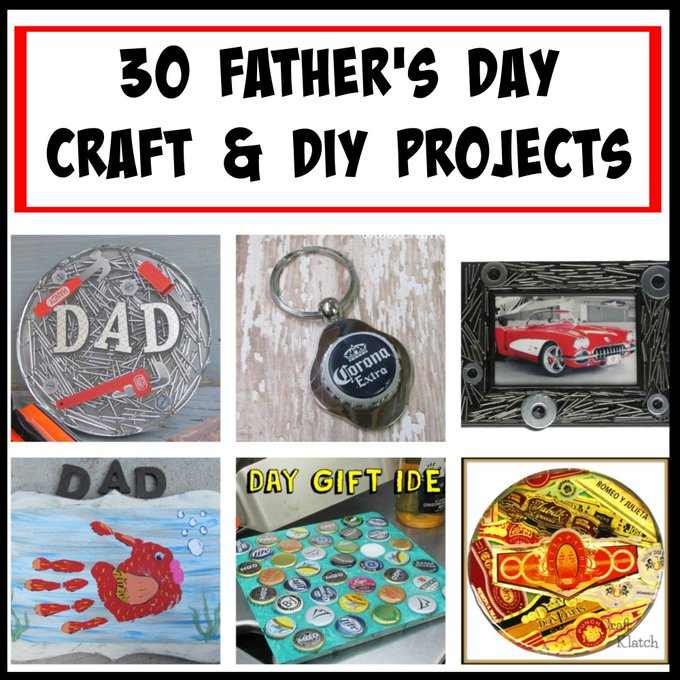 30 Father's Day Crafts and DIY Projects!