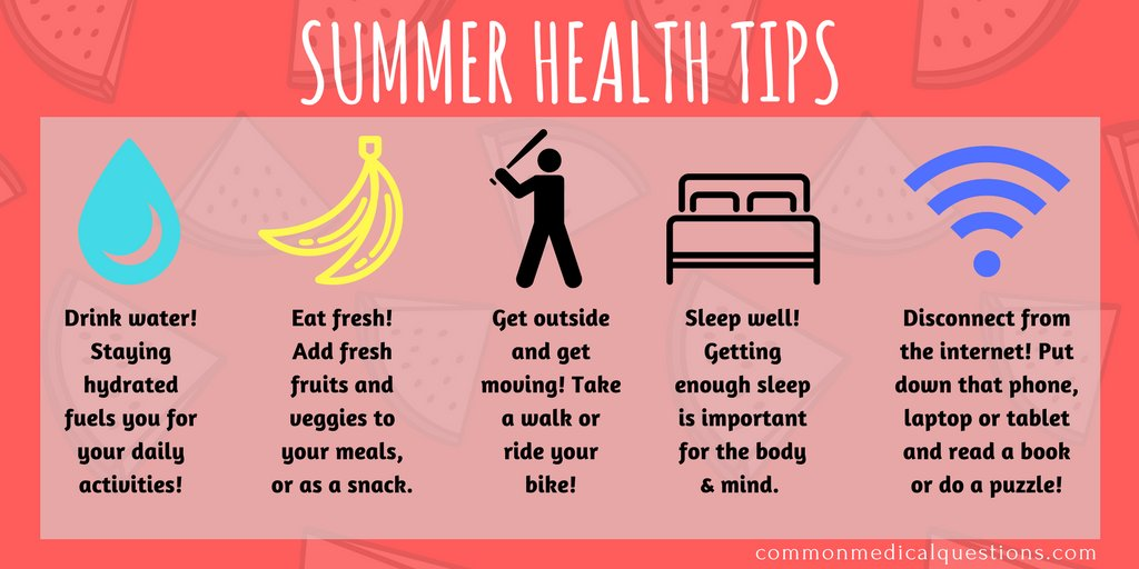 Tips summer images health 9 Clever