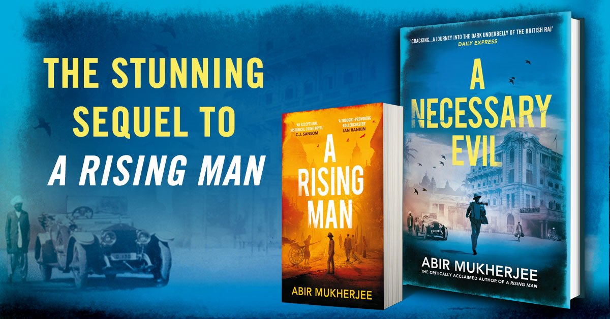 Abir Mukherjee On Twitter New Book Is Out Today A Necessary Evil